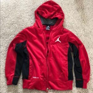 Kids Jordan zip fleece